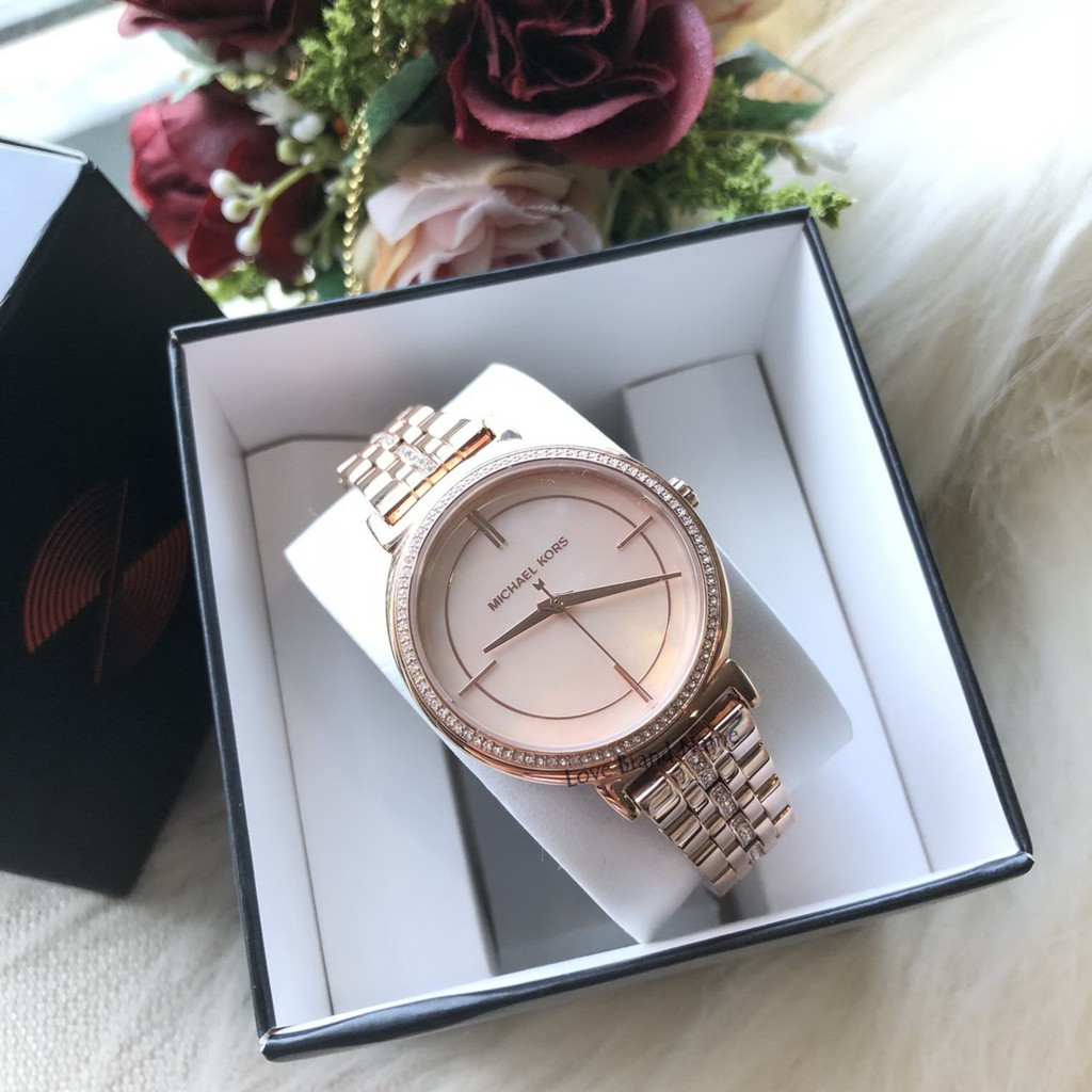 Michael Kors Taryn Mother Of Pearl Dial Ladies Watch Item Shopee Jam Tangan Mk3312 Kerry Thailand