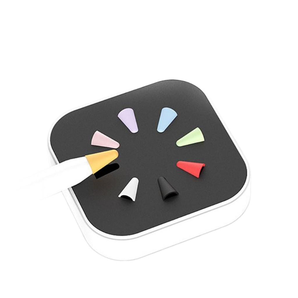 ✣♈เคสหัวปากกา สำหรับ ApplePencil รุ่น1/2 ซิลิโคนจุกหัวปากกา case tip cover แบบแพ็ค 8 ชิ้น💰