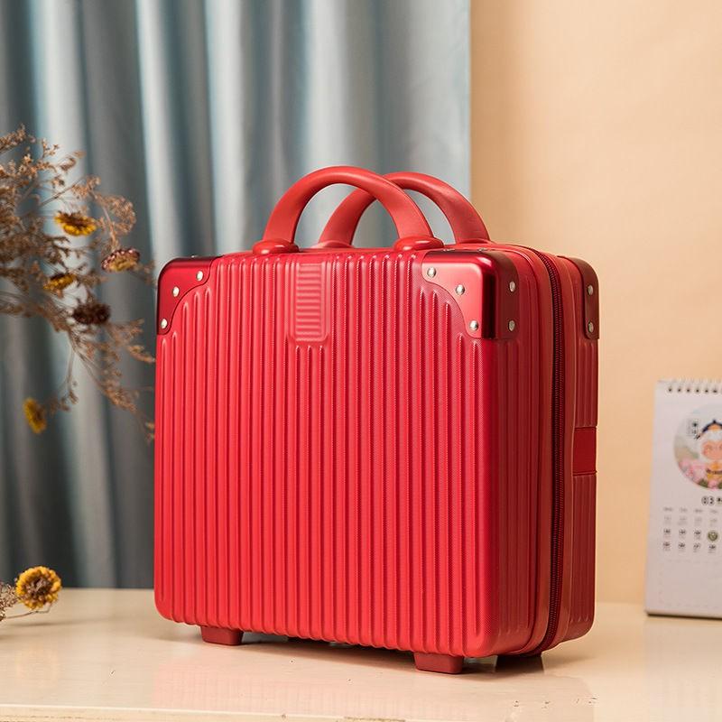 ♙✕18 กระเป๋าเดินทางขนาดนิ้ว, กล่องเก็บการเดินทาง, กระเป๋าเดินทางขนาดใหญ่, กระเป๋าเดินทาง 14 นิ้ว 16