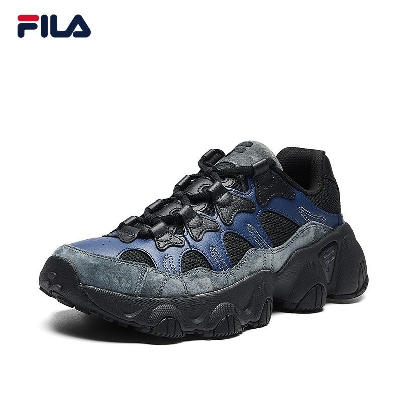 ของแท้FILA รองเท้าFilaHERITAGEชุดอย่างเป็นทางการ JAGGER ผู้ชายรองเท้าวิ่ง 2020แนวโน้มใหม่รองเท้าเก่าชาย