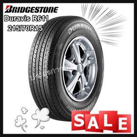 215/70R15 Bridgestone Duravis R611 ยางคุณภาพสูง