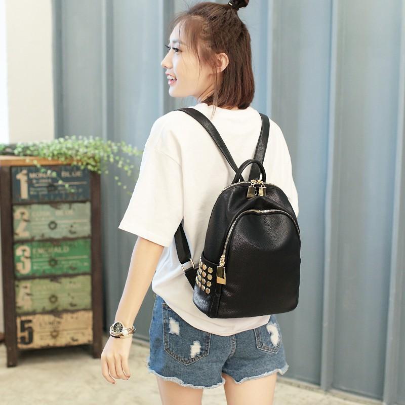 กระเป๋าเป้กระเป๋าผู้หญิงปี 2020 ใหม่อินเทรนด์เกาหลีรุ่นป่านักเรียนกระเป๋าแฟชั่นความจุขนาดใหญ่เดินทางกระเป๋าเป้ใบเล็ก