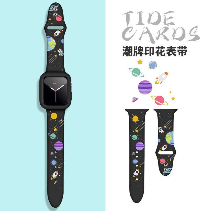 💥 สาย applewatch 🔥 สายนาฬิกา iwatch6 ยี่ห้อ Apple watch สาย Applewatch6 / 5 รุ่นทั่วไปซิลิโคนเหลวกีฬา