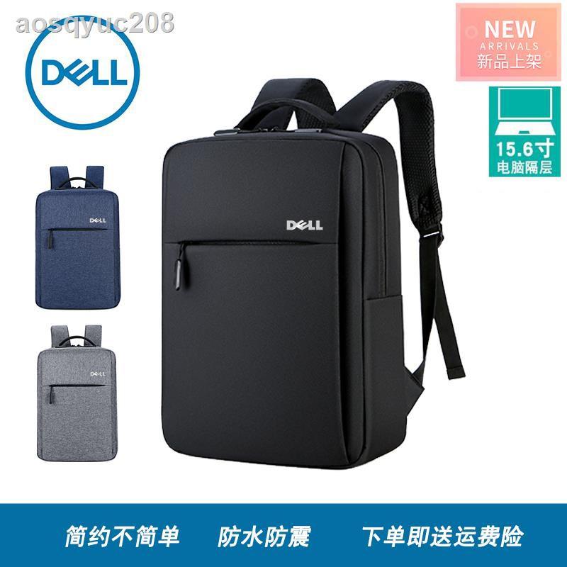 กระเป๋าโน๊ตบุ๊ค☬❉✁กระเป๋าเป้ Dell กระเป๋าใส่แล็ปท็อป 14 นิ้ว 15.6 นิ้ว กระเป๋านักเรียนชาย-หญิง เดินทางเพื่อธุรกิจ