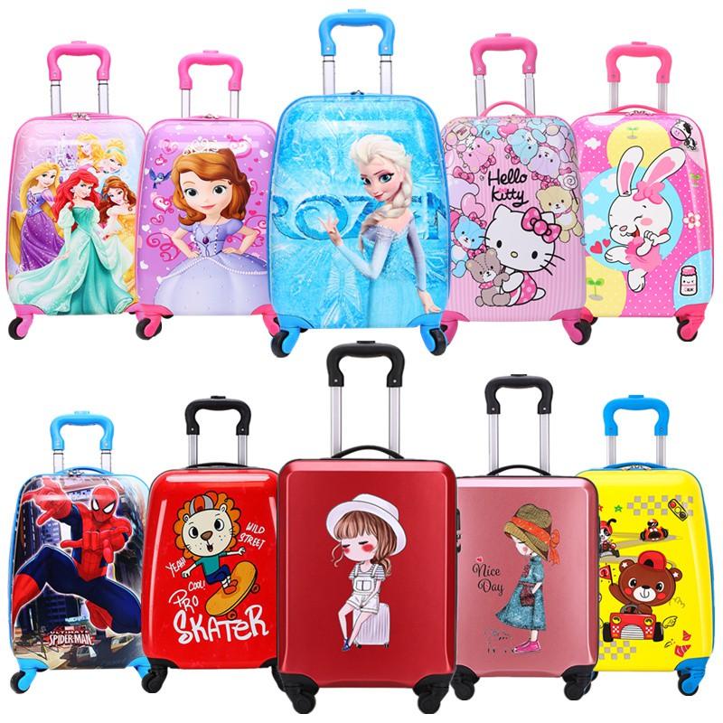 ゆぶ กระเป๋ารถเข็นเดินทาง กระเป๋าเดินทางพกพา กระเป๋าเดินทางเด็ก กระเป๋าเดินทางสำหรับเด็ก, กระเป๋าเดินทางสำหรับเด็กผู้หญิง,