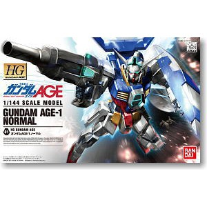 Bandai [HG] 1/144 Gundam Age-1 Narmal