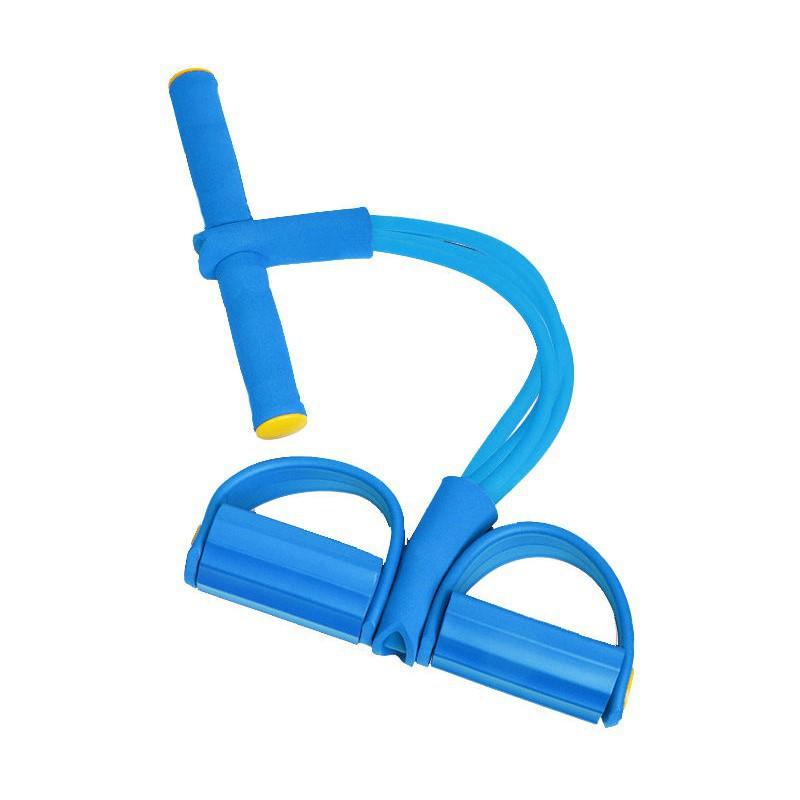 จัดส่งที่รวดเร็ว☞ยางยืดออกกําลังกาย ยางยืดช่วยซิทอัพ ออกกำลังกายหน้าท้อง อุปกรณ์ออกกำลัง ฟิตเนส โยคะ โยคะดึงเชือกเชือกยื