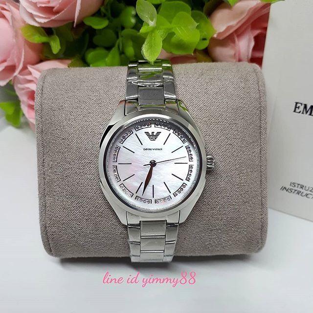 EMPORIO ARMANI Women Watch silver AR11030