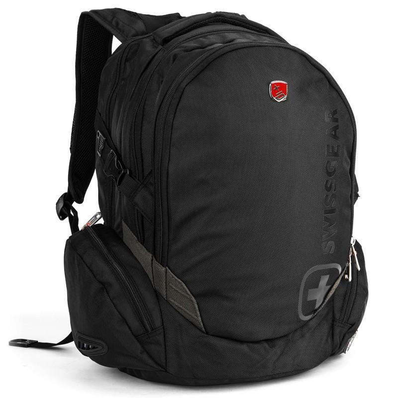 กระเป๋าเป้สะพายหลัง SwissGearUseful สำหรับผู้ชายและผู้หญิงกระเป๋าเดินทางกลางแจ้งขนาดใหญ่ความจุ 15.6 นิ้วกระเป๋าเป้คอมพิว