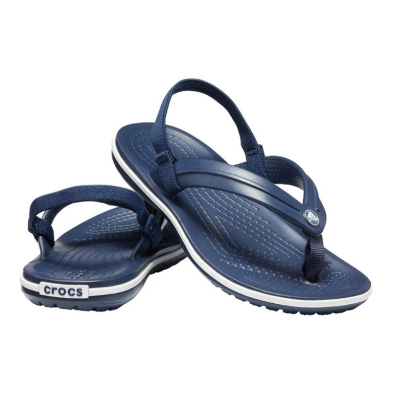 crocs แท้ crocs crocband strap FLIP รองเท้าแตะเด็ก