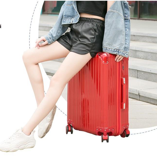 กระเป๋าเดินทาง กระเป๋าเดินทาง 20 นิ้ว Classy Luggageสีพิเศษ💞 กระเป๋าเดินทางล้อลาก20/24/26/28นิ้ว รุ่นซิป วัสดุABS+PCแข็