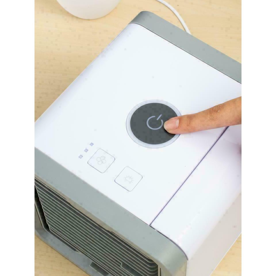 ARCTIC AIR พัดลมไอเย็นตั้งโต๊ะ พัดลมไอน้ำ พัดลมตั้งโต๊ะขนาดเล็ก เครื่องทำความเย็นมินิ แอร์พกพา Evaporative Air-Cooler uP