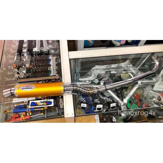 iluท่อสูตร ท่อผ่า โยชิมูระ เวฟ WAVE ทุกรุ่น ดรีมซูเปอร์คัพ Click Mio MSX SCOOPY ยิงทราย คอท่อ 28mออก40m GTWD