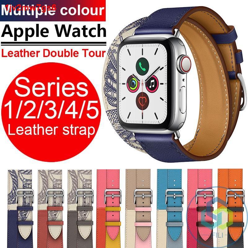 【โปรโมชั่นระเบิด】สายนาฬิกาข้อมือ Apple Watch 5 Hermes