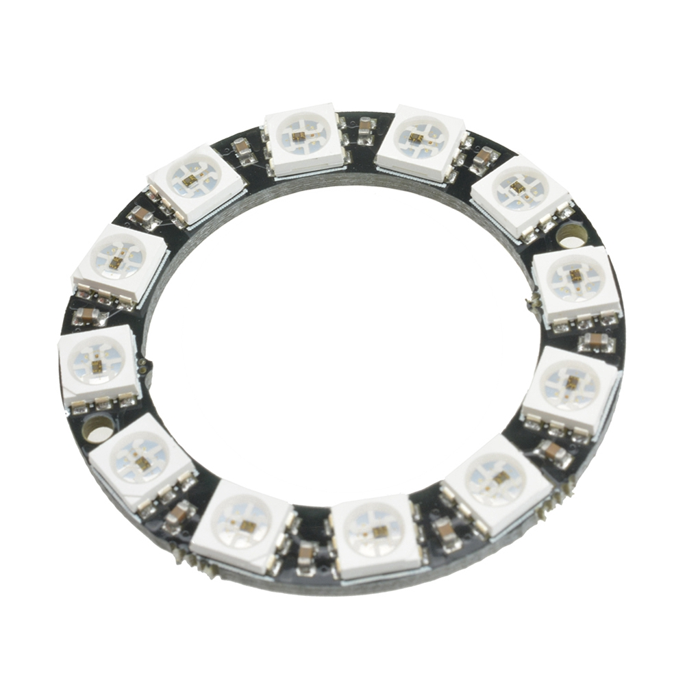 Built-in Integrated Drivers 1 8 12 16 24 32 Bits WS2812B RGB LED Ring 5050