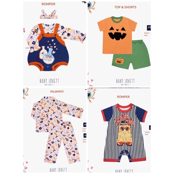 BabyLovett  🎃 Halloween collection