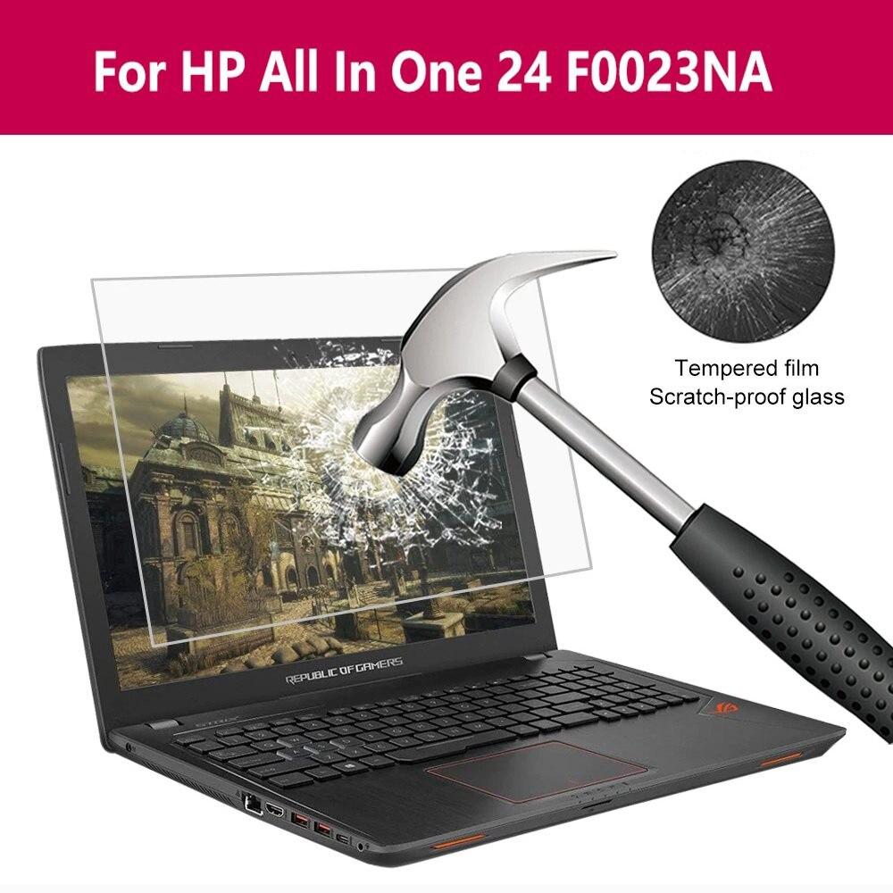 สำหรับ HP All In One 24 F0023na กระจกนิรภัยป้องกันหน้าจอป้องกันฟิล์มแก้ว