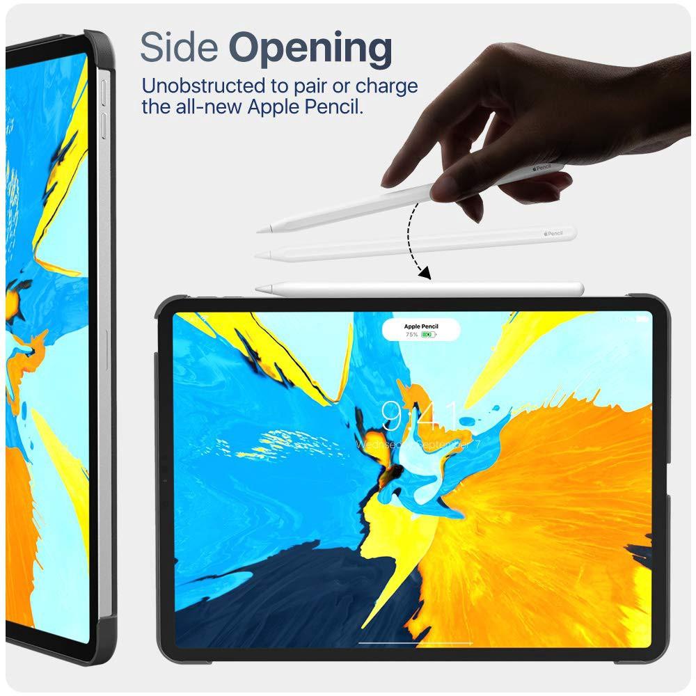 เคสไอแพด MoKo Case Fit iPad Pro 11 2020 w/ Elastic Pencil Holder - [Support Apple Pencil 2 Charging] Slim Lightweight Sm