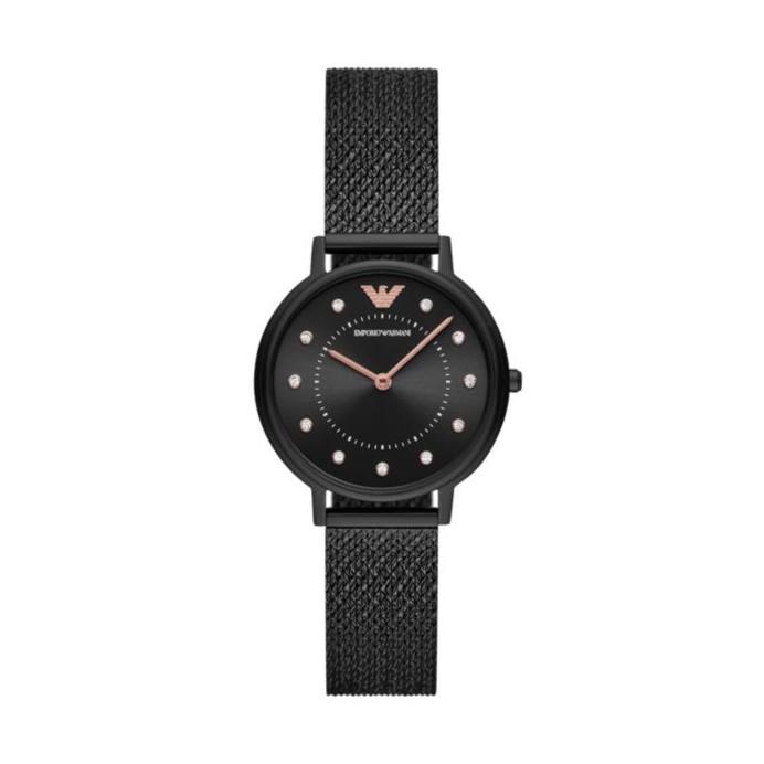 Emporio Armani - Analog Black Dial Women's Watch - AR11252