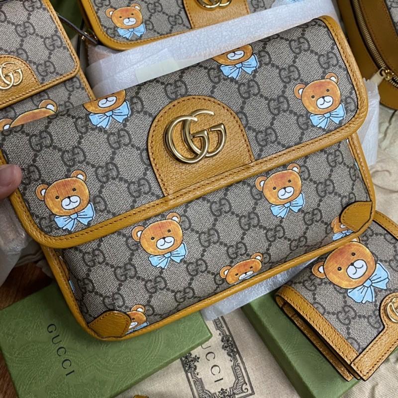 Gucci x Kai belt bag กุชชี่ หมี ของแท้ ส่งฟรี EMS ทั้งร้าน