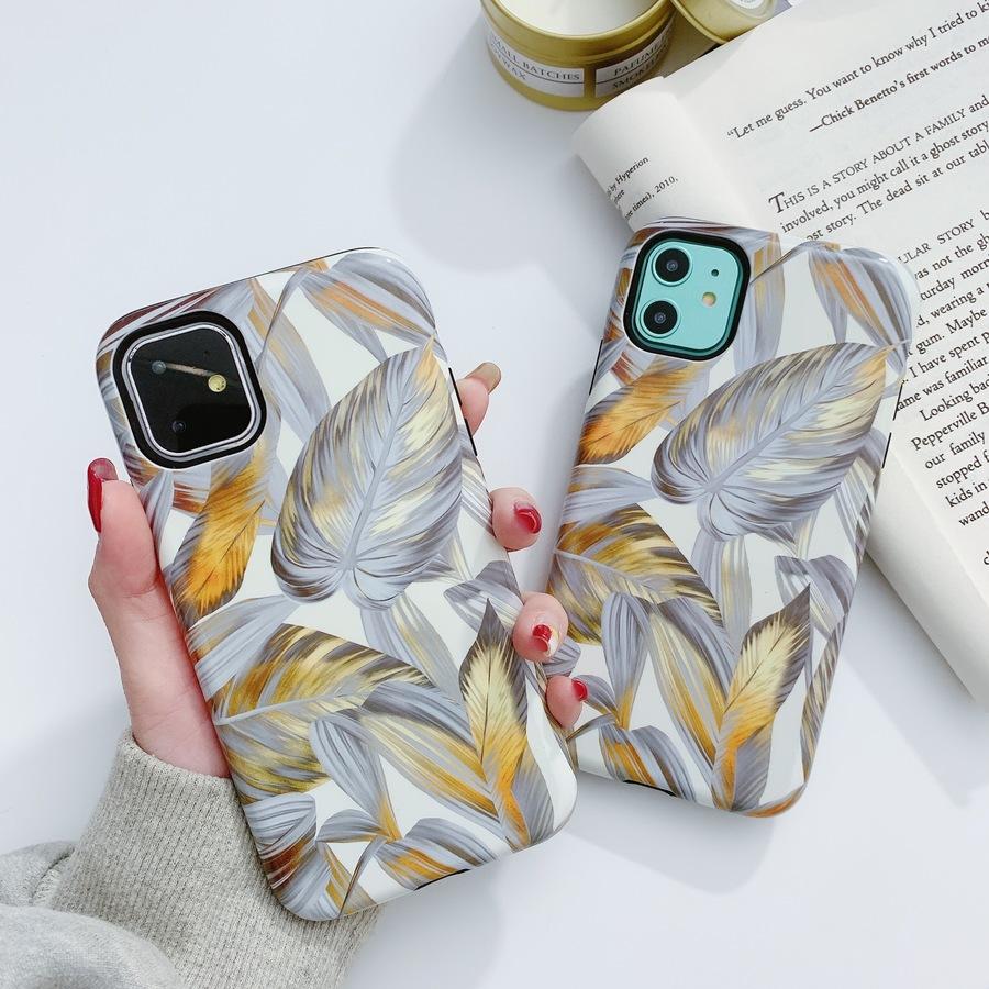 เคสโทรศัพท์มือถือแบบสองชั้นสําหรับ Iphone 11 / 11 Pro / 11 Pro Max Xs Xr