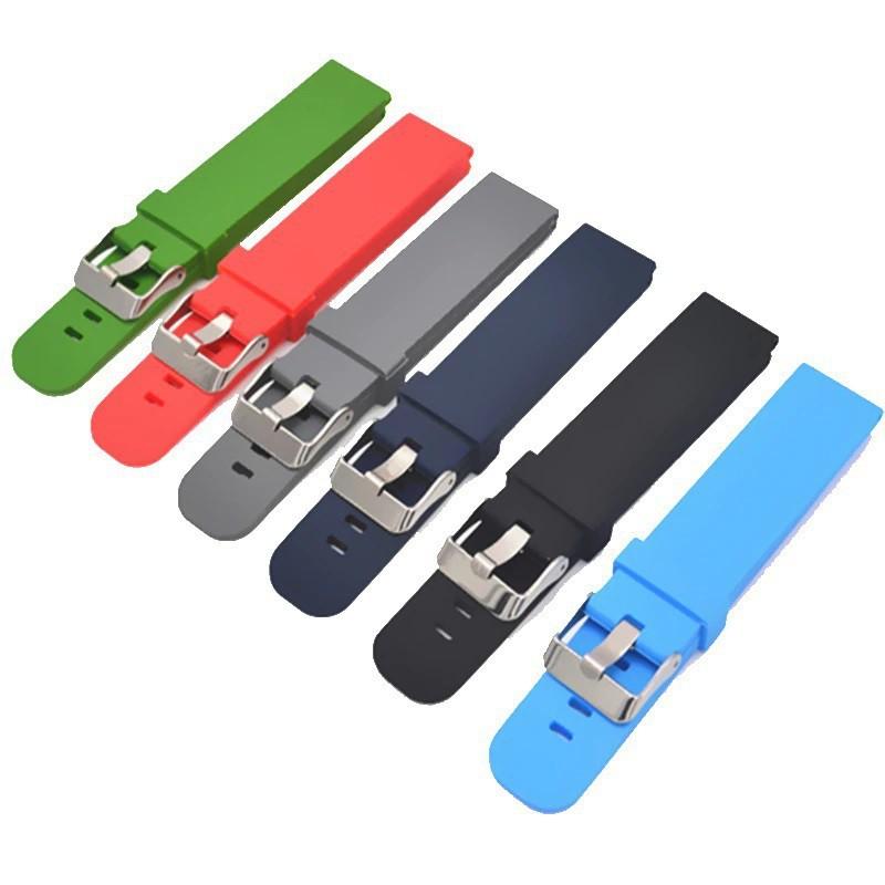 สาย applewatch สาย applewatch แท้ สายนาฬิกาข้อมือซิลิโคน สำหรับ Samsung Huawei Smart Watch มาพร้อมสลักสายแบบ Quick Relea