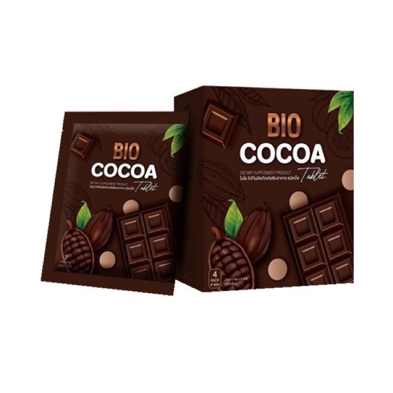 ไบโอโกโก้ อัดเม็ด Bio cocoa tablet (1ซองมี 7เม็ด)