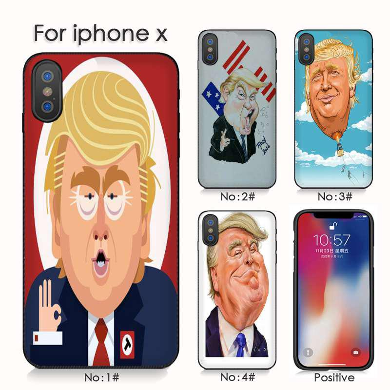 Us President Donald Trump Iphone 6s 7plus Xr Xsmax Cell