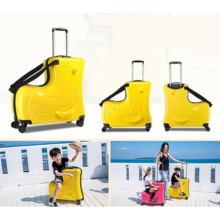 กระเป๋าเดินทางเด็ก กระเป๋าเดินทางต่างประเทศ กระเป๋าเดินทางเด็กนั่งได้ กระเป๋าเดินทางเด็กล้อลากเด็ก
