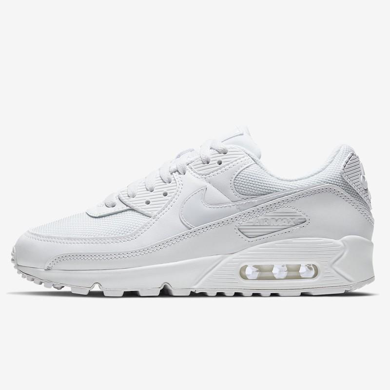 NIKEรองเท้ากีฬาฤดูร้อนรองเท้าสีขาวAIRMAX90เบาะลมรองเท้าลำลองCV8110ไม่สนับสนุนการกลับมา