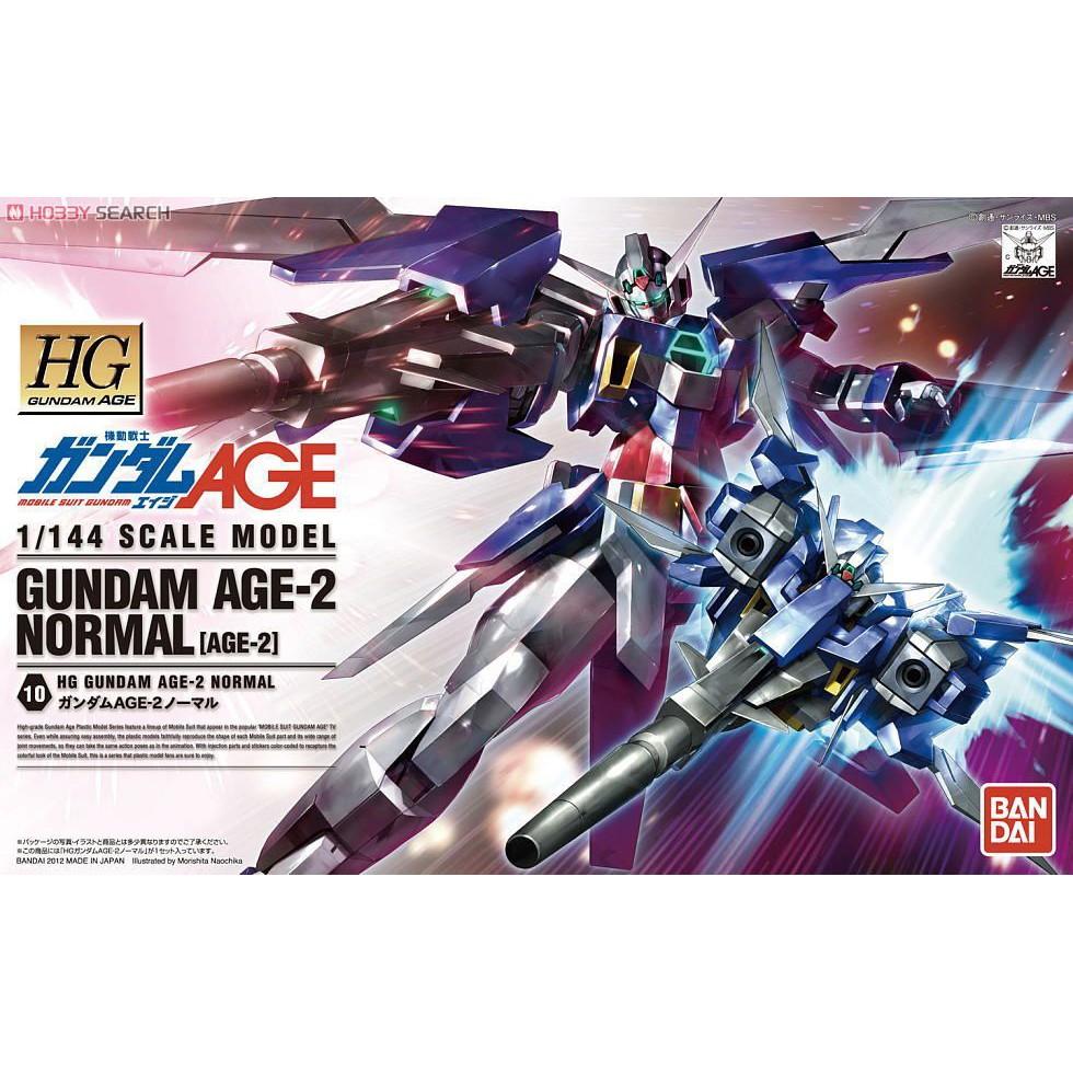 HG Gundam AGE-2 Normal (AGE) BANDAI 4573102582713