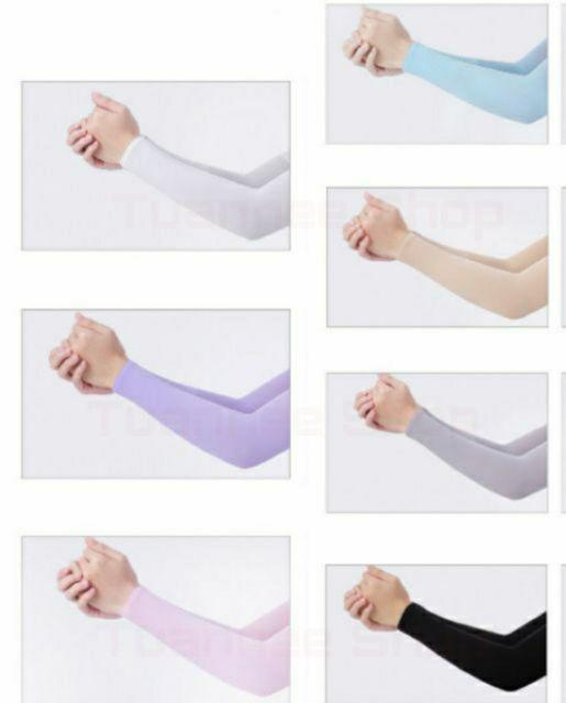 ?ปลอกแขนกันแดด ปลอกแขนกันยูวี UV 1 คู่