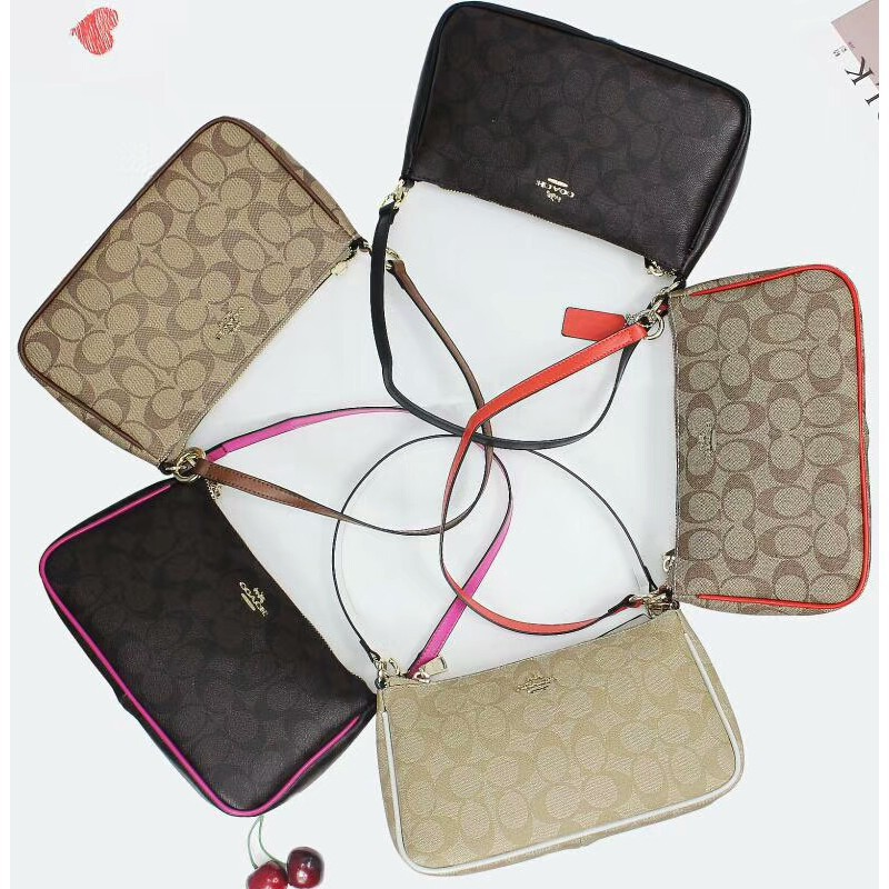 ⊕☫Coach 36674 Original Women s Shoulder Bag Sling กระเป๋าสะพายข้างกระเป๋าสะพายข้างกระเป๋าสตรี
