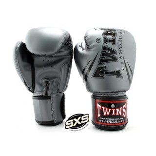 Twins Special Boxing Gloves FBGVS3-TW6 GREY BLACK