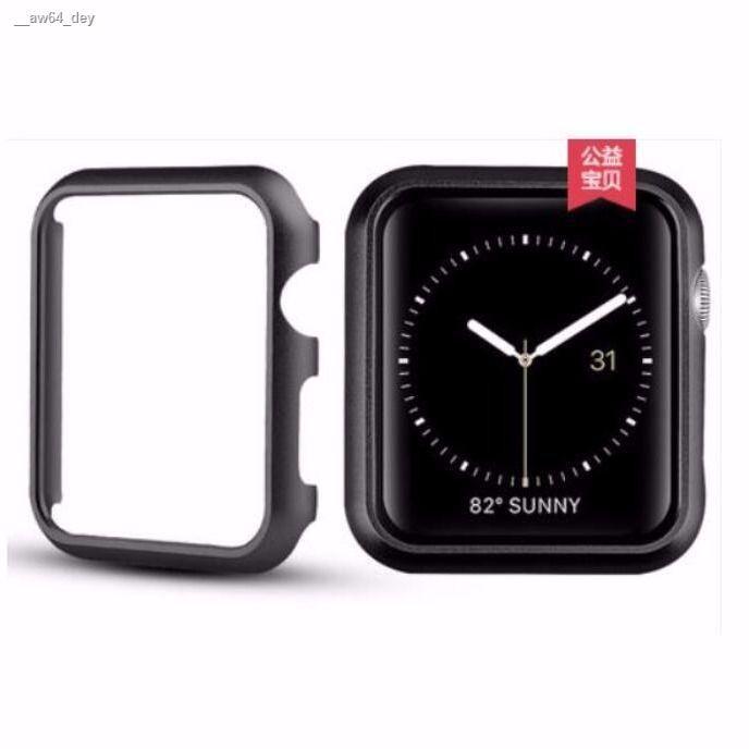 นาฬิกา Apple watch۞◆✼เหมาะสำหรับ Apple Watch Case Metal Protective iwatch 123456SE38 42 40 44mm