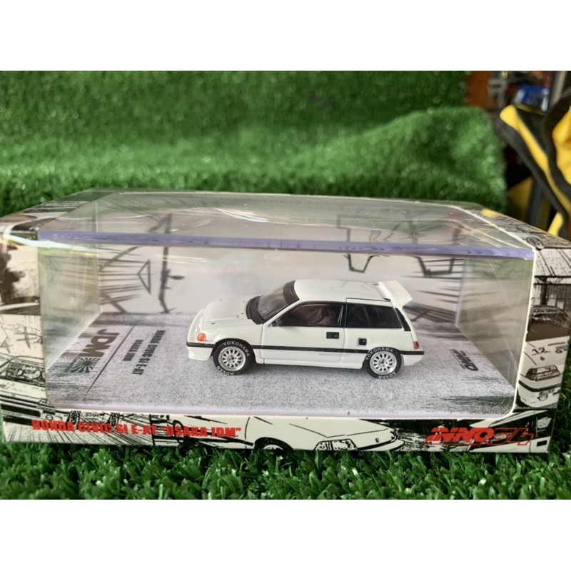 "Honda Civic Si E-AT ""OSAKA JDM"" Scale 1:64 ยี่ห้อ inno64"