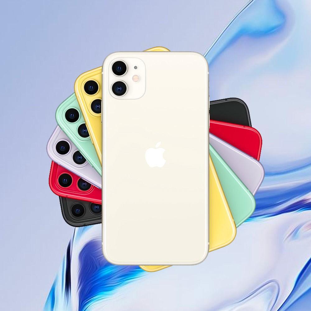 ﹉[ขายด่วน] Original original] โทรศัพท์มือถือ Apple iPhone 11 Full Netcom 4G 128GB รุ่นที่เรียบง่ายโดยไม่มีอุปกรณ์เสริม