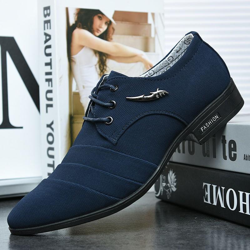 🌟รองเท้าหนัง🌟ผู้ชายรองเท้าหนัง รองเท้าหนังผู้ชาย  รองเท้าผูกเชือก  รองเท้าแฟชั่น รองเท้าผูกเชือก รองเท้าคัชชูหนังขัดมั