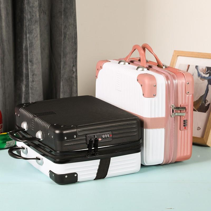 กระเป๋าเดินทางใบเล็กน่ารักกระเป๋าเดินทางใบเล็ก 14 นิ้วกระเป๋าเดินทางใบเล็ก✈❈กระเป๋าเดินทางขนาด 14 นิ้วกระเป๋าเครื่องสำอา