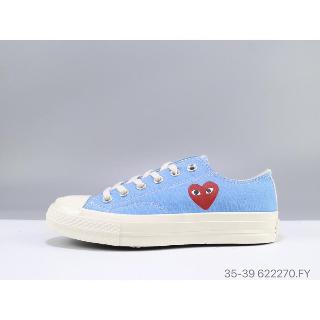 รองเท้าผ้าใบ Converse Chuck Taylor All Star 70 Hi สําหรับผู้หญิงสีฟ้า
