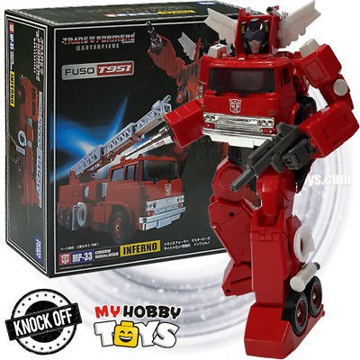 TAKARA TOMY Transformers master MP-33 fire truck toy