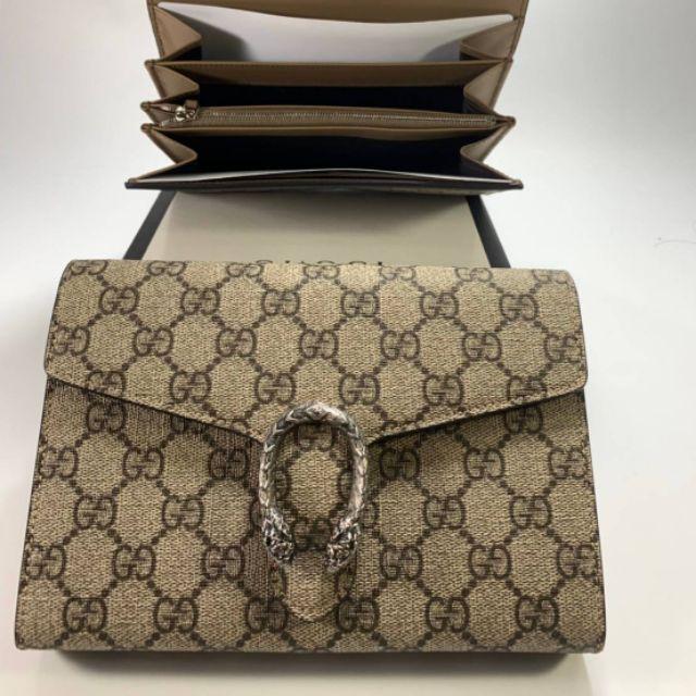 💯% Gucci Portefeuille Dionysus Suprême