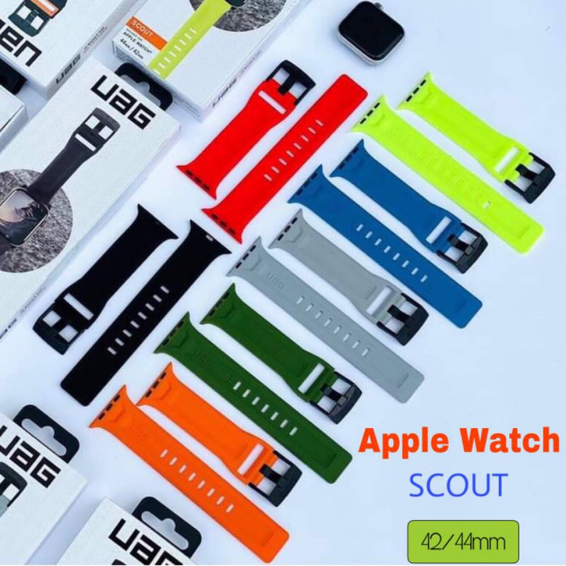 UAG สายนาฬิกา Silicone Apple Watch Strap Scout Series