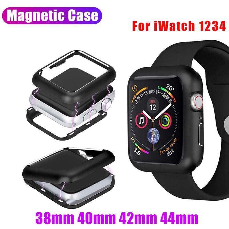 เคส Apple Watch 1 2 3 4 5 series โลหะแม่เหล็ก case apple Watch For ขนาด 38 40 42 44 mm