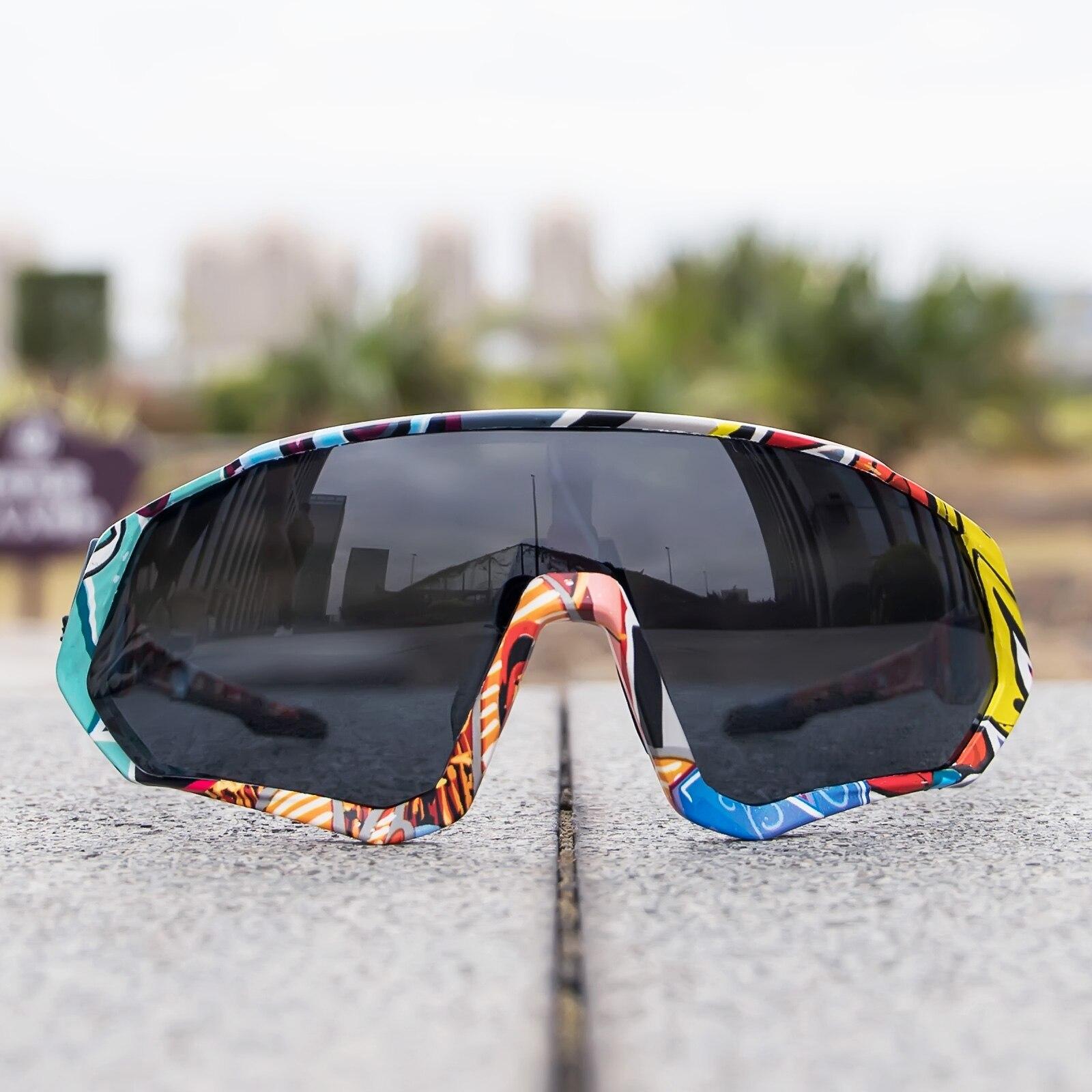 Unisex Photochromic Goggles Cycling Sunglasses Sport Road Mountain Bike Glasses