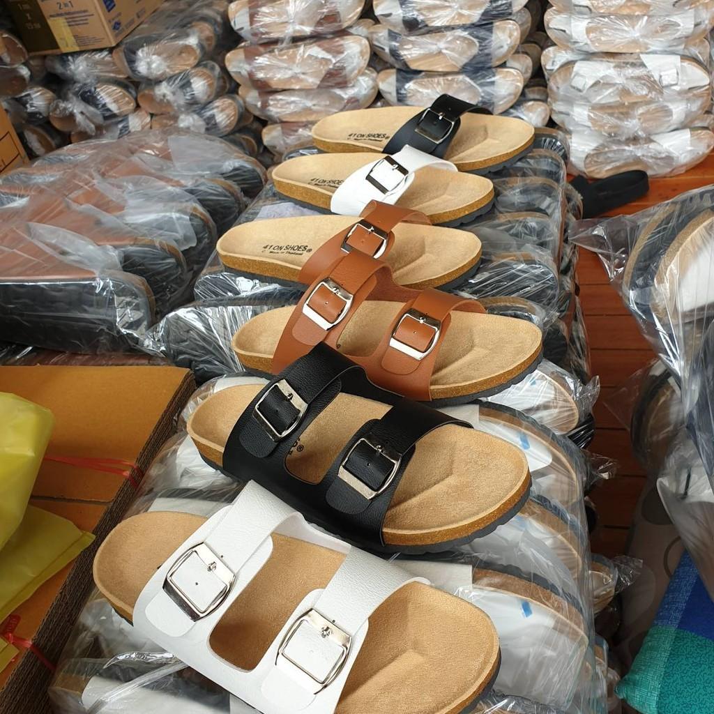 📣🔥💥▥❆❉ไซส์ใหญ่ 41-43 รองเท้าแตะ ฺBikenStock 1Step /2step  สายปรับระดับได้