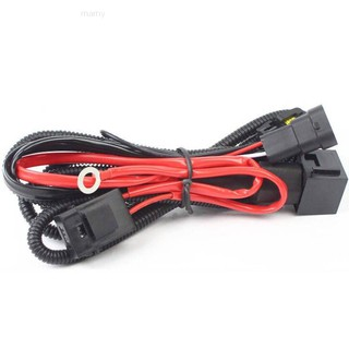 ✨mamy✨Xenon HID Conversion Kit Light Relay Wiring Harness 9006 on