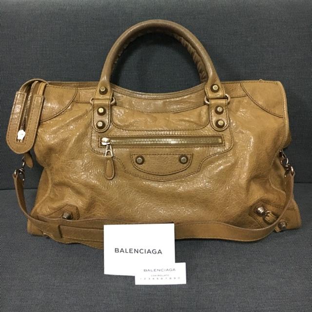 กระเป๋า balenciaga city มือสอง ของแท้ 100%