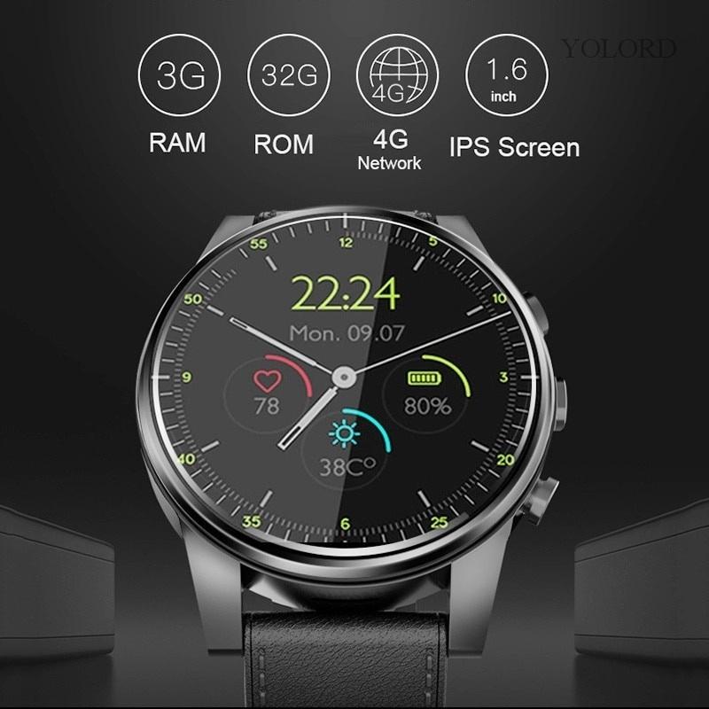 X 360 Android 7 . 1 3 Gb 32 Gb 2mp Ip 67 4 G นาฬิกาข้อมืออัจฉริยะกันน้ําสําหรับ Samsung Gear S3 Huawei Watch 2 Pro Kw 88 Z 28