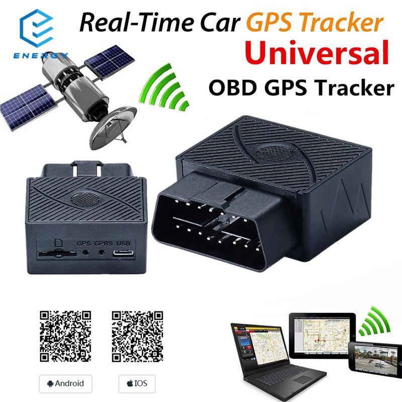 ♢Quelima Waterproof Vehicle GPS Tracker Real-time Locator